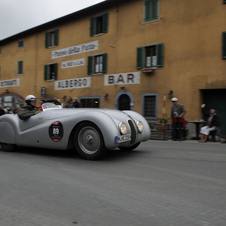 It is the 75th anniversary of BMW entering the 328 in the Mille Miglia