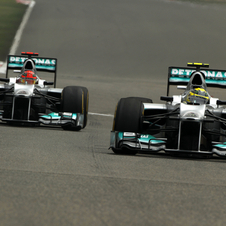 Rosberg cruised to victory last year after setting pole