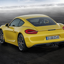 The new Cayman is much lower than the old one