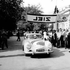 A Porsche club meeting in Merano in the Tyrol region of Italy