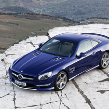 Mercedes SL65 AMG with Biturbo V12 Tops Range