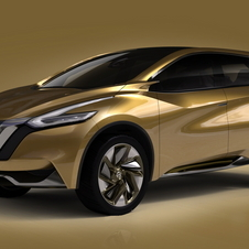Nissan says it was inspired by modern materials