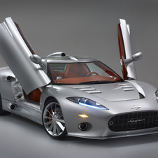The C8 was the car that built Spyker's reputation