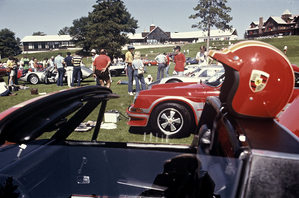 A Porsche club meeting in 1976