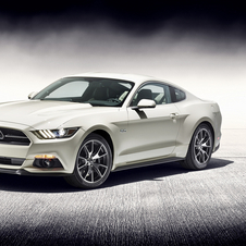 Ford is celebrating 50 years of Mustang with a special edition