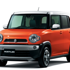 The Hustler mixes minicar and crossover