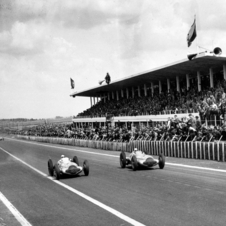 Mercedes took a 1-2-3 victory in the 1938 French Grand Prix
