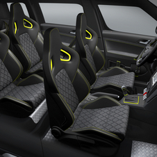 The Yeti Xtreme gets an interior with rally features, including equipment necessary to compete