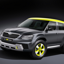 With the Yeti Xtreme, Skoda's designers wanted to conver the popular compact SUV into a rally car
