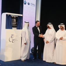 BMW Opens World's Largest Car Showroom in Abu Dhabi