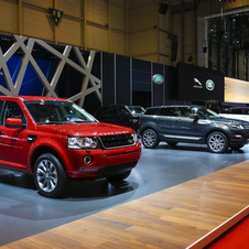 The brand will add even more new cars in the coming year including the new Range Rover Sport