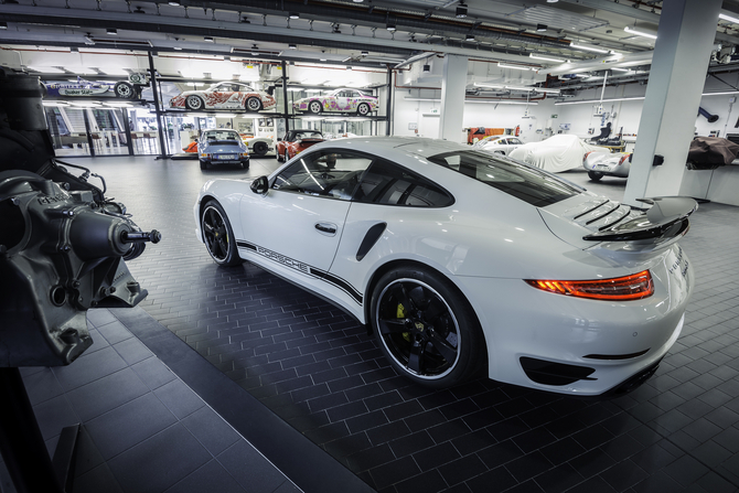 The 911 Turbo S can sprint from 0 to 100km/h in just 3.1 seconds and on to a top speed of 317km/h