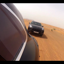 Porsche took two of them to Dubai to test in the dunes
