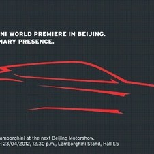 It appears the SUV will have the angular lines identified with Lamborghini's cars