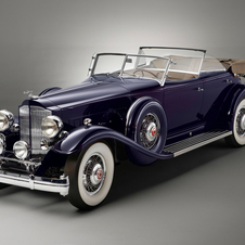 Packard Individual Custom Twin Six Sport Phaeton