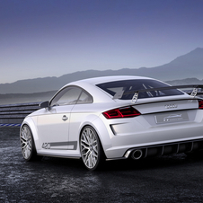 Audi TT quattro sport can reach 100km/h in just 3.7 seconds