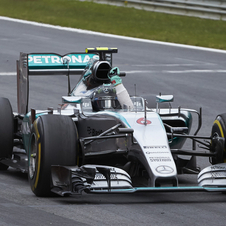 Rosberg dominated the race at the Red Bull Ring from start to finish