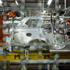 The investment built a new aluminum body plant at the Solihull factory