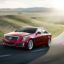 The ATS won the North American Car of the Year Award for 2013
