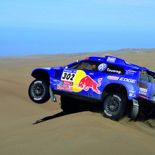 The Dakar is one of the most grueling rallies in the world