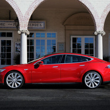 The Model S is still ramping up production