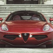 Alfa Romeo Disco Volante by Touring