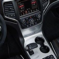 The 8-speed automatic also means a new design for the gear shift
