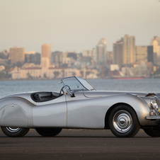 Jaguar XK 120 Alloy Roadster