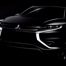 Outlander PHEV Concept-Sadopts a more sophisticated interior and exterior design