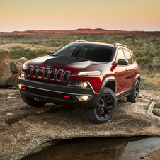 The Trailhawk comes with a capable all-wheel drive system and new V6