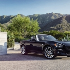Compared to the MX-5, the new 124 Spider from Fiat is slightly longer
