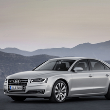 The ASF design is still used on the A8 that will be refreshed at the Frankfurt Motor Show
