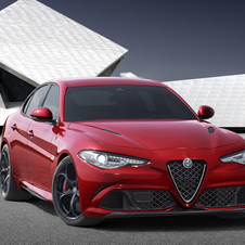 The new Giulia will be the top-range vehicle of Alfa Romeo when it reaches the market in spring next year