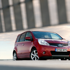 Nissan Note 1.5dCi 90 Visia