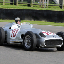 Fangio won back-to-back championships in the W196r