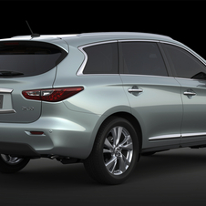 The QX60 Hybrid shares a platform with the Pathfinder