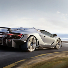 It can sprint from 0 to 100km to 2.9 seconds and a top speed of 349km/h