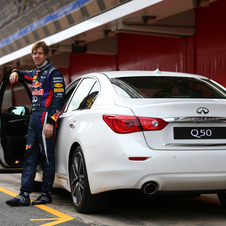 Vettel will help develop future Infiniti models