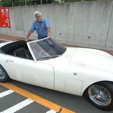 O Toyota 2000GT descapotável foi utilizado no filme James Bond You Only Live Twice