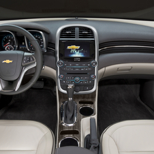 The interior gets a new center console and reshaped seats for more rear legroom