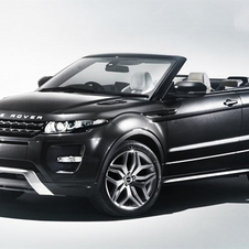 Land Rover Showing Off Range Rover Evoque Convertible at Geneva