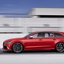 The new RS6 is dropping two cylinders and 1 liter to the old car
