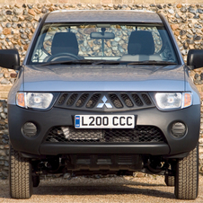 Mitsubishi L200 2.5 DI-D Single Cab 4Work