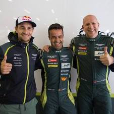 Pedro Lamy conquistou o título ao lado do austríaco Mathias Lauda e do canadiano Paul Dalla Lana