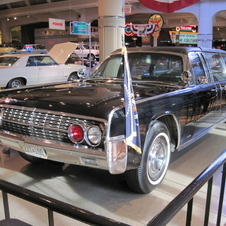 Lincoln Continental Convertible JFK