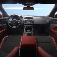 The interior offers high levels of comfort and space