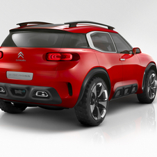 The Aircross is equipped with a plug-in hybrid system