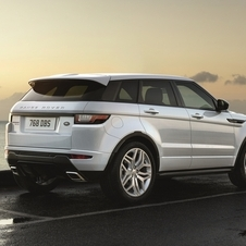The new Range Rover Evoque receives a new range of the new Ingenium family of engines