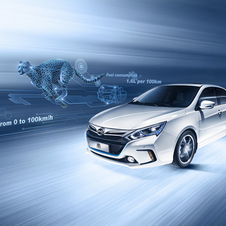 The Qin uses a 1.5-liter turbo four-cylinder and electric motor to produce 291hp