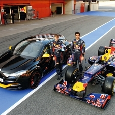 Renault is using its relationship with Red Bull sell the Megane R.S with extra equipment